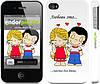 """Чехол на iPhone 4 Love is... """"1778c-15"""""""