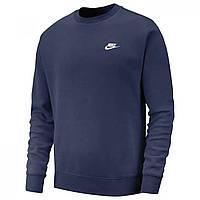 Толстовка Nike Fund Fleece Crew Navy - Оригинал