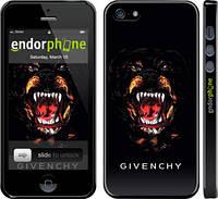 "Чехол на iPhone 5 Givenchy ""838c-18"""