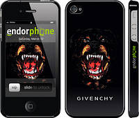 "Чехол на iPhone 4s Givenchy ""838c-12"""