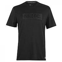 Футболка Nike Football Club Block Grey - Оригинал