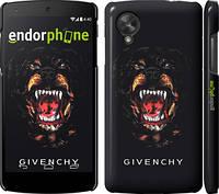 "Чехол на LG Nexus 5 Givenchy ""838c-57"""