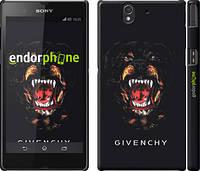 """Чехол на Sony Xperia Z C6602 Givenchy """"838c-40"""""""