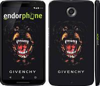 """Чехол на Motorola Nexus 6 Givenchy """"838c-67"""""""