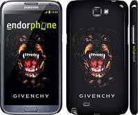 "Чехол на Samsung Galaxy Note 2 N7100 Givenchy ""838c-17"""