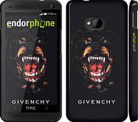 "Чехол на HTC One M7 Givenchy ""838c-36"""