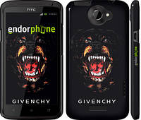 "Чехол на HTC One X+ Givenchy ""838c-69"""