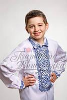 Бисерная заготовка сорочки детской (для мальчика) СД-002