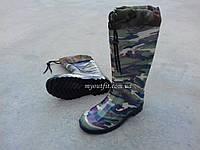 Мужские резиновые сапоги Камуфляж с затяжкой