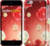 "Чехол на iPhone 6 Дождь из роз ""1873c-45"""