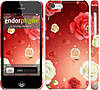 "Чехол на iPhone 5c Дождь из роз ""1873c-23"""
