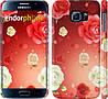 "Чехол на Samsung Galaxy S6 G920 Дождь из роз ""1873c-80"""