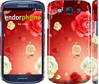 "Чехол на Samsung Galaxy S3 Duos I9300i Дождь из роз ""1873c-50"""