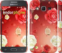 "Чехол на Samsung Galaxy Core Prime G360H Дождь из роз ""1873c-76"""