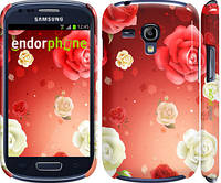"Чехол на Samsung Galaxy S3 mini Дождь из роз ""1873c-31"""