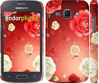"Чехол на Samsung Galaxy Ace 3 Duos s7272 Дождь из роз ""1873c-33"""