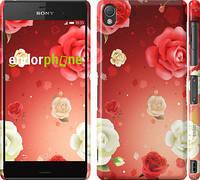 """Чехол на Sony Xperia Z3 dual D6633 Дождь из роз """"1873c-59"""""""