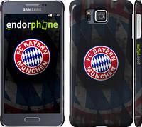 "Чехол на Samsung Galaxy Alpha G850F Бавария Мюнхен ""1561c-65"""