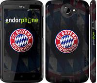 """Чехол на HTC One X Бавария Мюнхен """"1561c-42"""""""