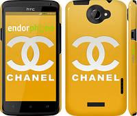 "Чехол на HTC One X Chanel 1 ""453c-42"""