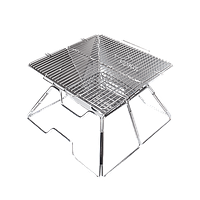 Гриль на углях Kovea Mugic I Stainless BBQ KCG-0712