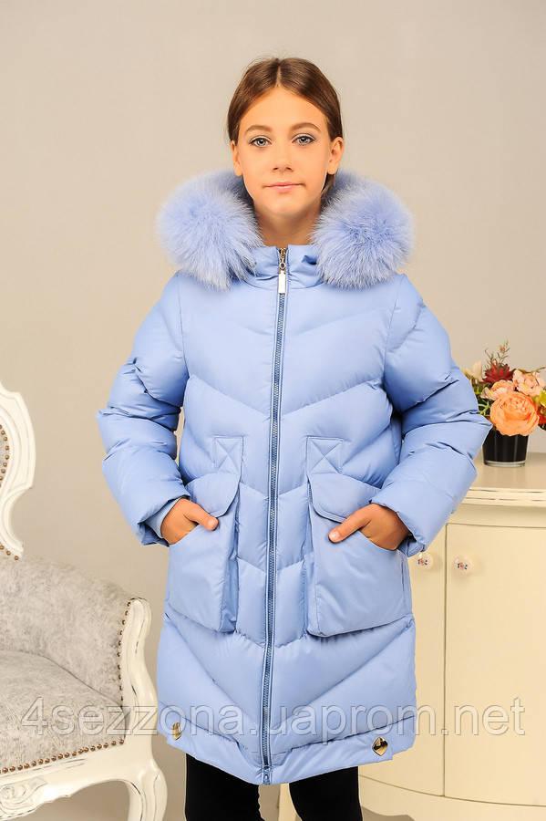 Зимняя куртка для девочки Катрина, фото 1