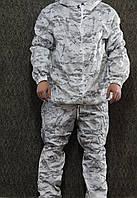 Зимний маскировочный костюм маскхалат белый - multicam alpine (масхалат)(mk)