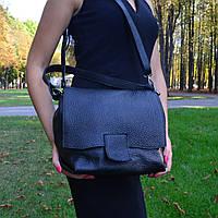 Женская сумка из натуральной кожи (1818/Black)
