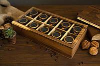 Креативный подарок на юбилей мужу парню директору боссу органайзер с гравировкой для дорогих наручных часов