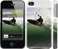 """Чехол на iPhone 4s Серфингист """"2321c-12"""""""