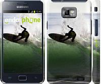"Чехол на Samsung Galaxy S2 i9100 Серфингист ""2321c-14"""