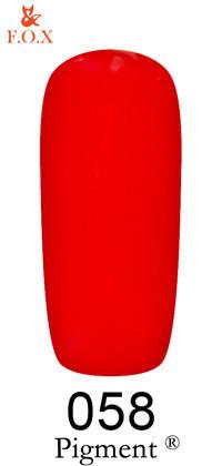 Гель-лак F.O.X Pigment №58, 12 мл