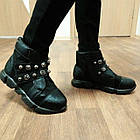 Сапоги - ботинки демисезонные девочкам, р. 31, 32, 33, 34, 35, 36, фото 2