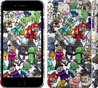 "Чехол на iPhone 6 Plus Minecraft 3 ""775c-48"""