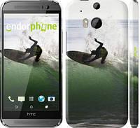 "Чехол на HTC One M8 dual sim Серфингист ""2321c-55"""