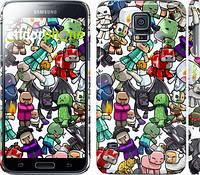 "Чехол на Samsung Galaxy S5 g900h Minecraft 3 ""775c-24"""