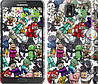 "Чехол на Samsung Galaxy Note 3 N9000 Minecraft 3 ""775c-29"""