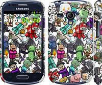 "Чехол на Samsung Galaxy S3 mini Minecraft 3 ""775c-31"""