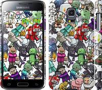 "Чехол на Samsung Galaxy S5 mini G800H Minecraft 3 ""775c-44"""