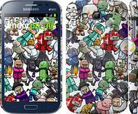 "Чехол на Samsung Galaxy Grand Duos I9082 Minecraft 3 ""775c-66"""