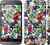 "Чехол на HTC One M8 dual sim Minecraft 3 ""775c-55"""