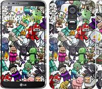 "Чехол на LG G2 Minecraft 3 ""775c-37"""