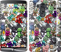 "Чехол на LG G3 dual D856 Minecraft 3 ""775c-56"""