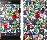 """Чехол на Sony Xperia Z C6602 Minecraft 3 """"775c-40"""""""
