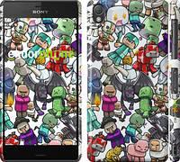 "Чехол на Sony Xperia Z3 dual D6633 Minecraft 3 ""775c-59"""