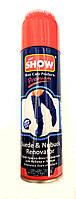 Аэрозольная краска Темно синяя для нубука и замши Show 250мл