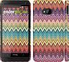 "Чехол на HTC One M7 Шеврон v4 ""1059c-36"""