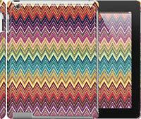 "Чехол на iPad 2/3/4 Шеврон v4 ""1059c-25"""