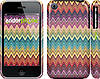 "Чехол на iPhone 3Gs Шеврон v4 ""1059c-34"""