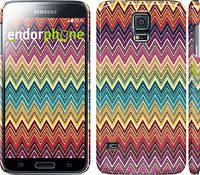 "Чехол на Samsung Galaxy S5 g900h Шеврон v4 ""1059c-24"""